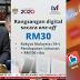 Cara Daftar Dan Tebus RM30 eTunai Rakyat - Touch N' Go, Boost Dan GrabPay