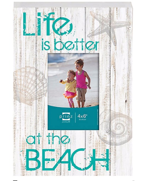 distressed beach frame