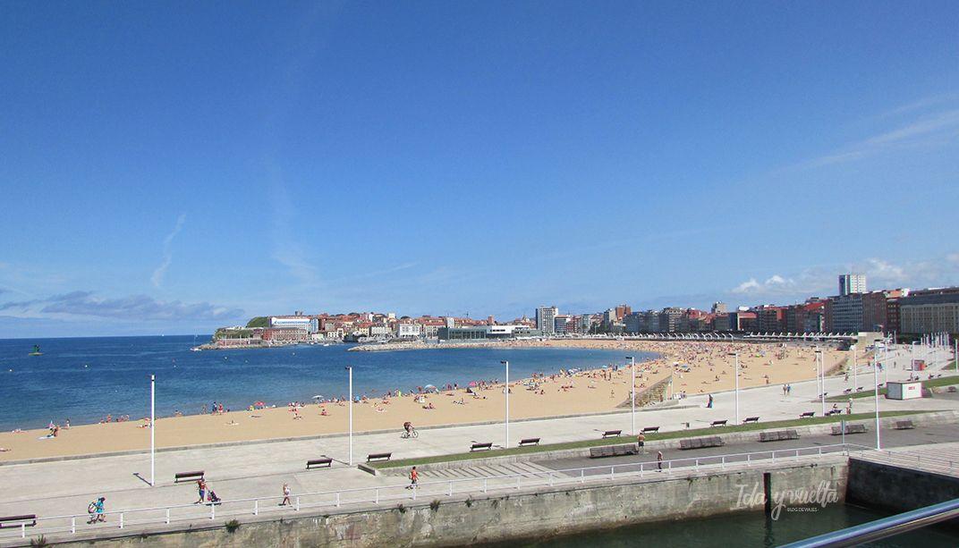 Acuario Gijón vista