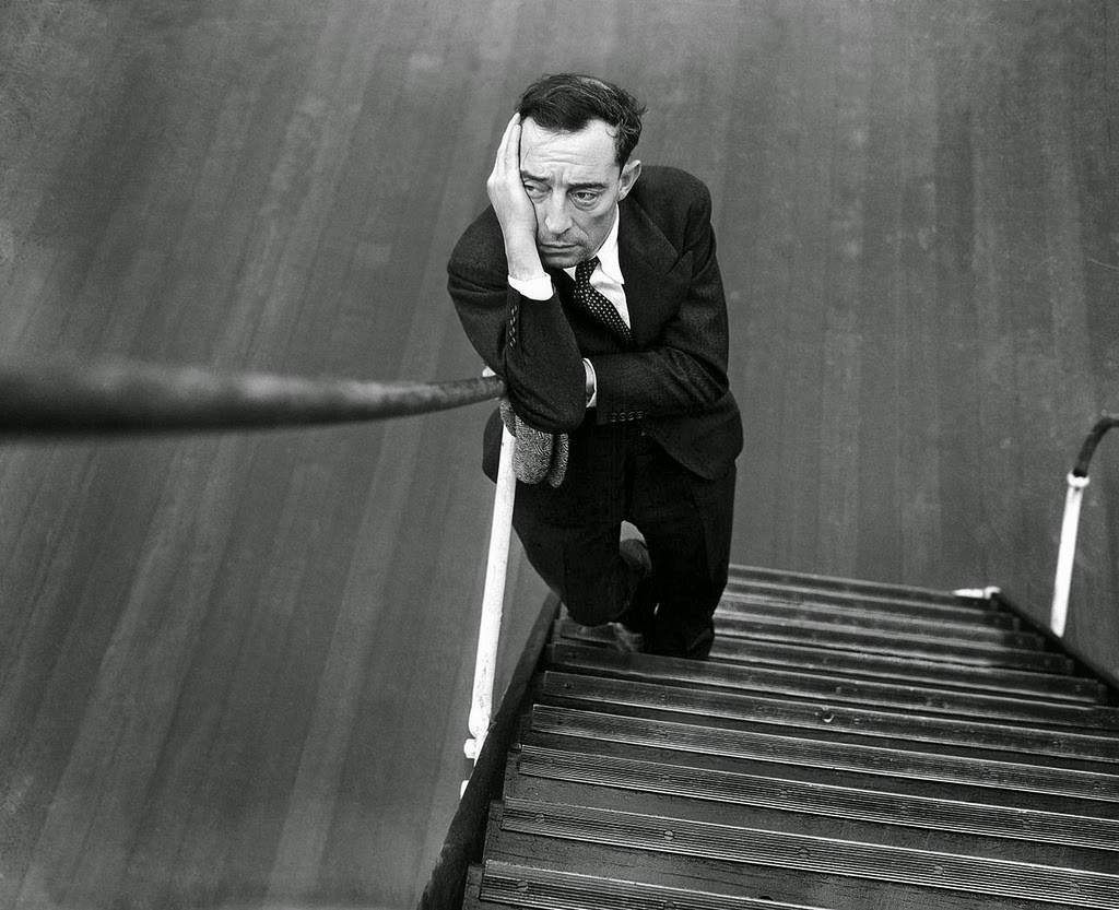 Buster Keaton silent comedian The Great Stone Face