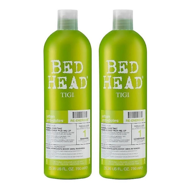 tigi bed head re energise shampoo and conditioner duo pack