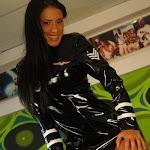 Andrea Rincon, Selena Spice Galeria 5 : Vestido De Latex Negro Foto 38
