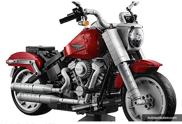 jual LEGO Harley davidson Fat Boy
