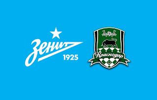 Зенит – Краснодар  смотреть онлайн бесплатно 3 августа 2019 прямая трансляция в 21:30 МСК.