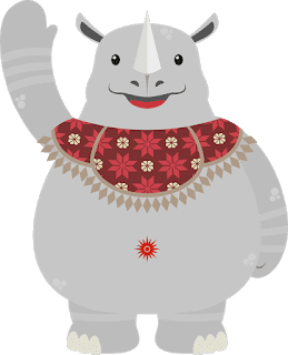 Mengenal Lebih dalam Mengenai Arti Logo Dan Maskot Asian Games  Mengenal Lebih dalam Mengenai Arti Logo Dan Maskot Asian Games 2018