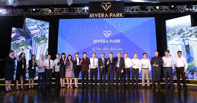 Lễ ra mắt thương hiệu Rivera park của Long Giang