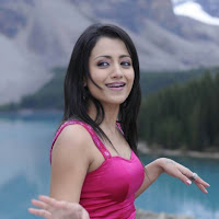 Cute and splendid trisha outdoor photo shoot