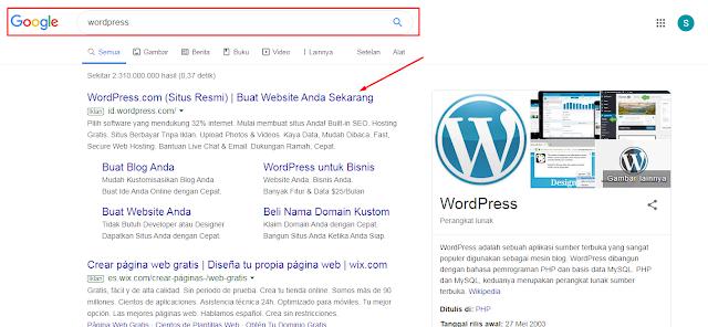 √ Cara Membuat Website Gratis Menggunakan Platfrom WordPress.Com ...