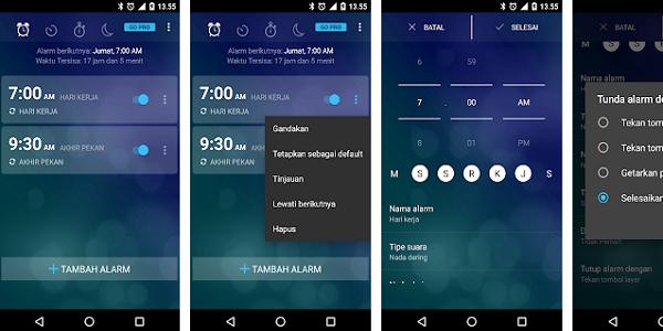Aplikasi Alarm Clock