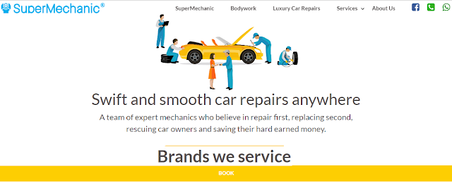 SuperMechanic is also a company which provides all repair and maintenance services and car wash services too. If you want any services from them you can call or book an appointment for your car as and when required.Just make sure you do not miss the regular car maintenance and regular service, Clutch, Engine, Suspension, denting, painting, Air Conditioning. Visit Wikipedia and get all information.