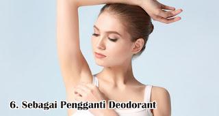 Sebagai Pengganti Deodorant