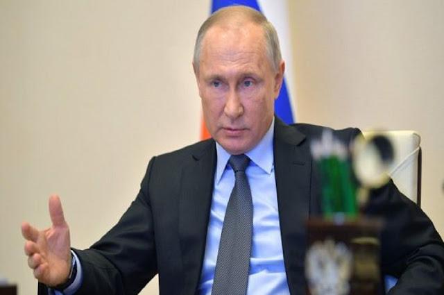 Putin Wacanakan Pengerahan Militer untuk Tangani Covid-19