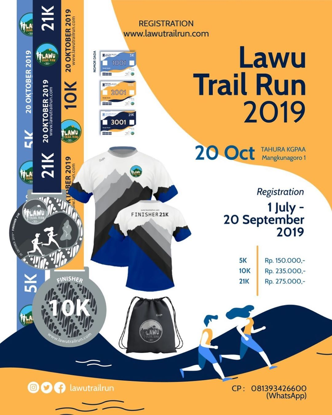 Lawu Trail Run • 2019