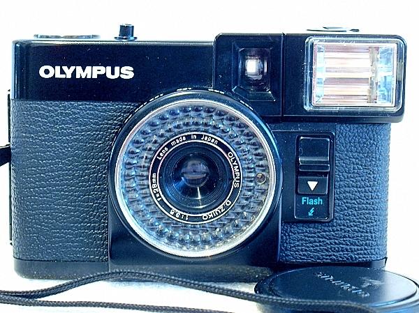 Olympus Pen EF, Front
