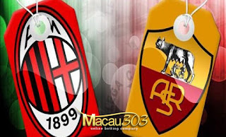 Prediksi Judi Bola AC Milan vs AS Roma 8 Mei 2017