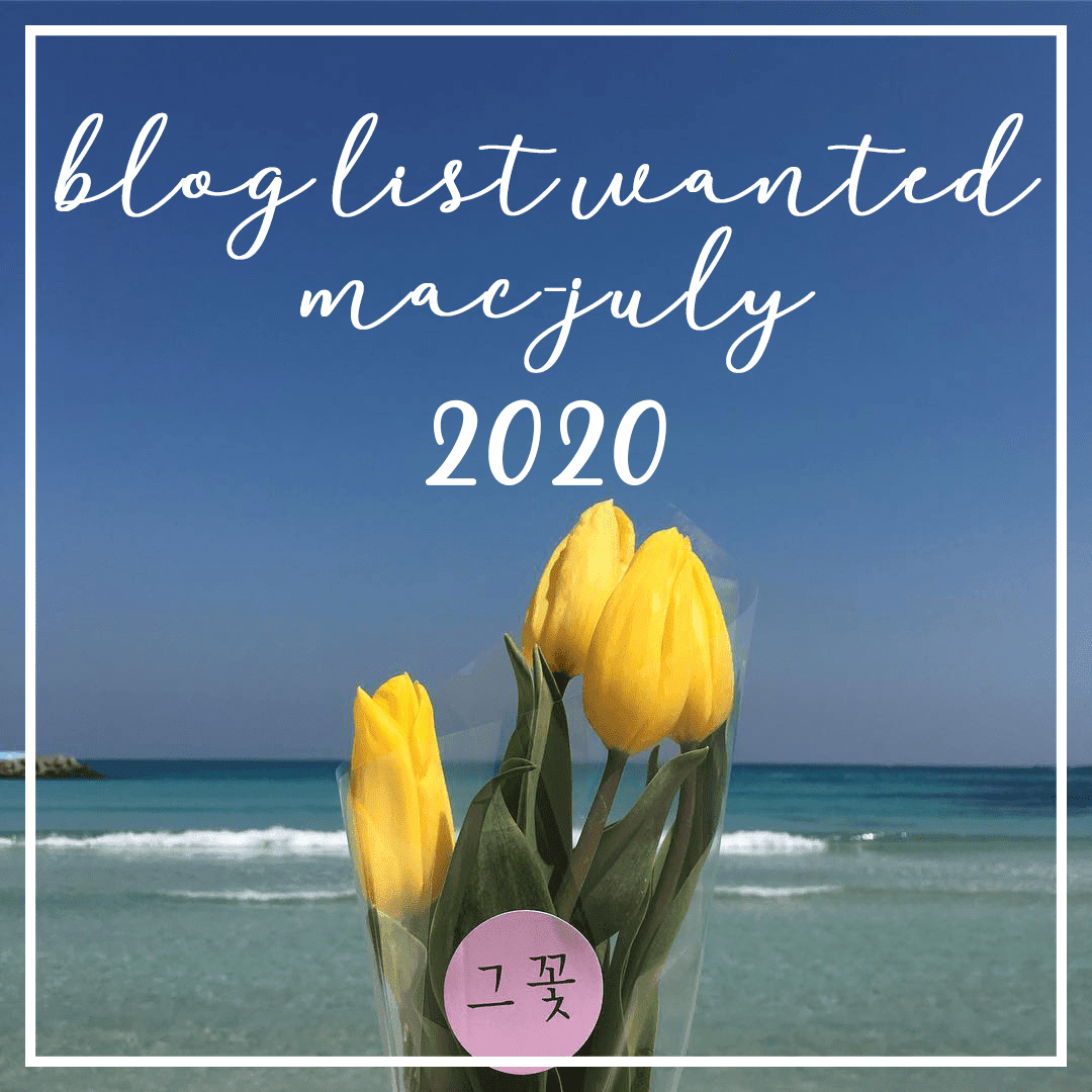 A New Blog List for March-July 2020