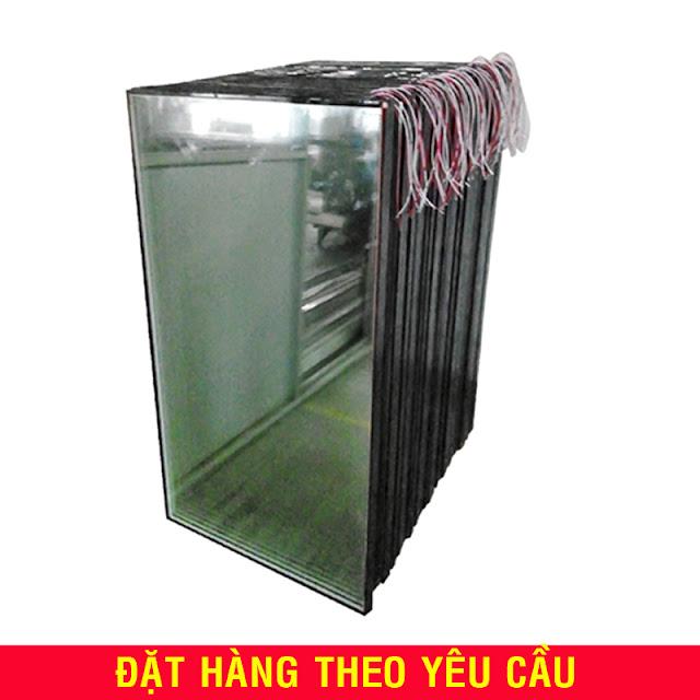 Kính có sấy nóng, kính kho đông lạnh, tủ tủ đông đứng