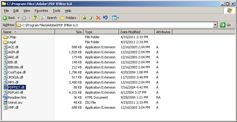 Bit 32 adobe pdf ifilter 9