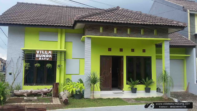 Villa Murah di Kota Batu Malang