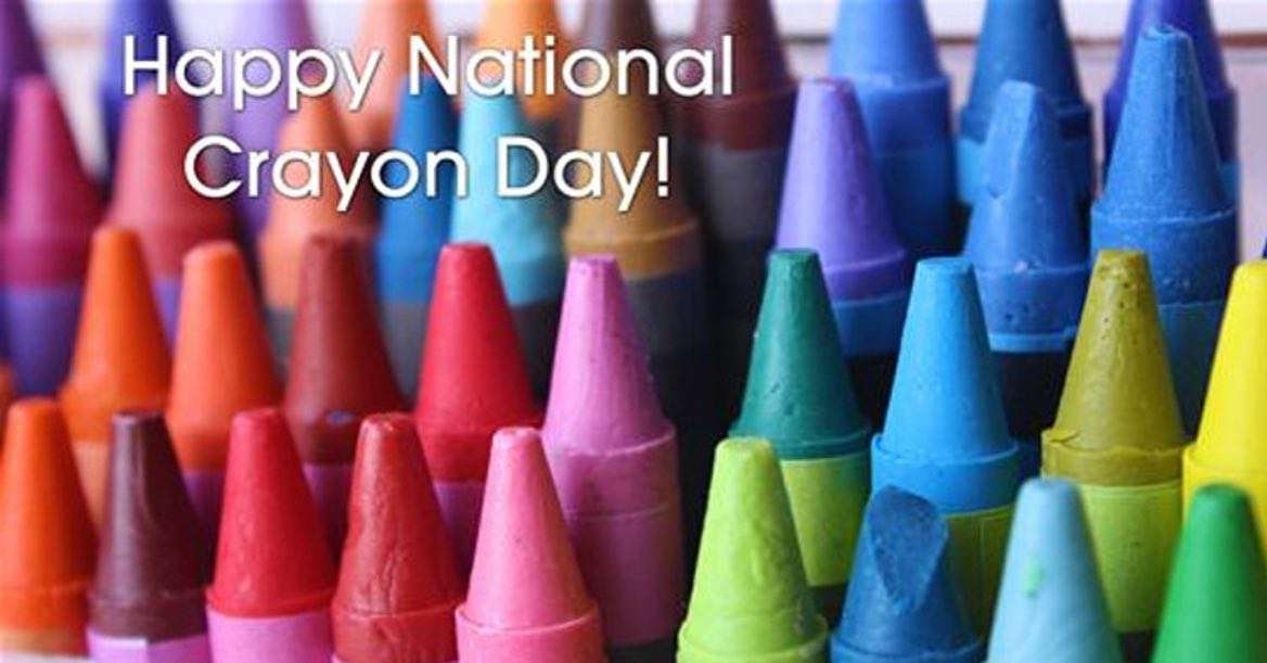 National Crayon Day Wishes Images