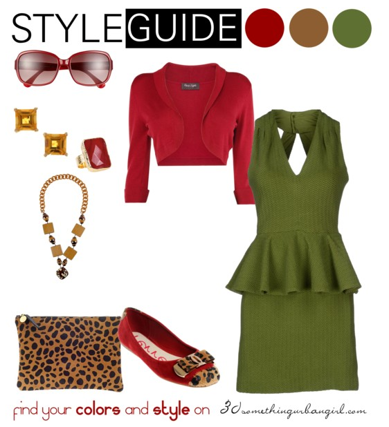 bold and sexy spring outfit idea for Deep Autumn