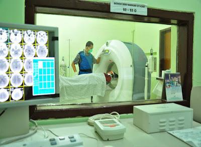 Keadaan didalam bilik CT SCan