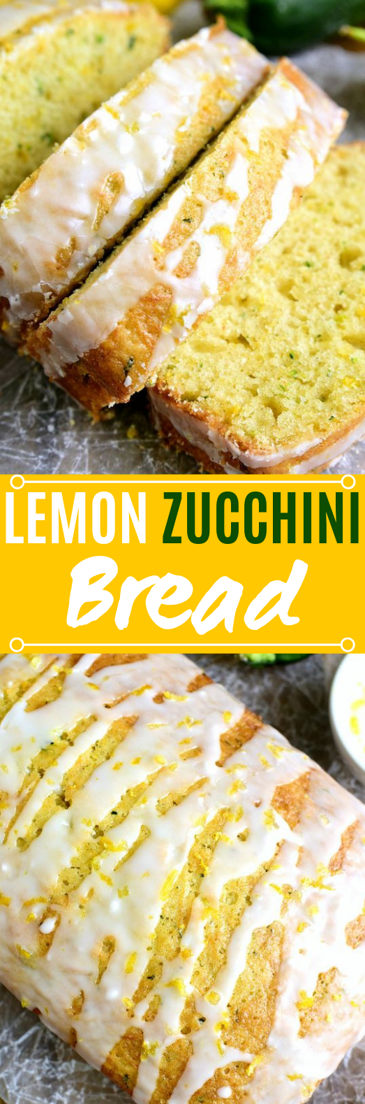 Lemon Zucchini Bread #cake #baking