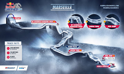 parcours red bull crashedice marseille 2017