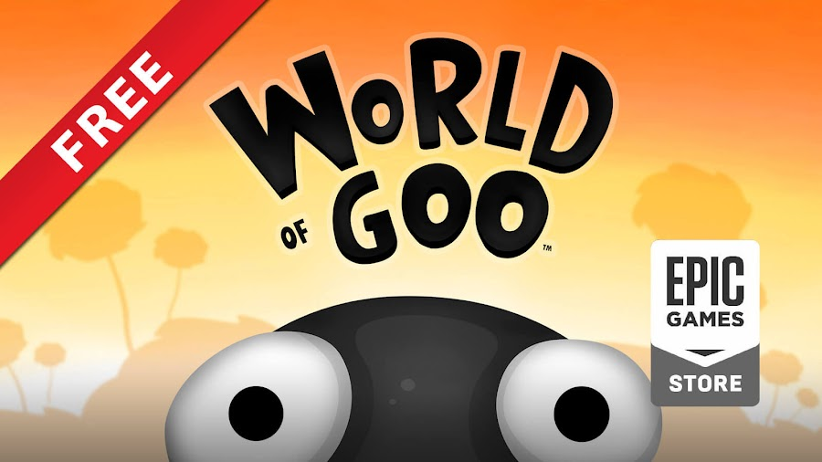 world of goo free pc epic games store 2d boy puzzle game