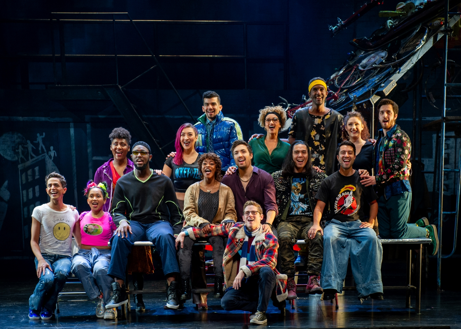 RENT 25th anniversary farewell tour Fisher Theatre Detroit