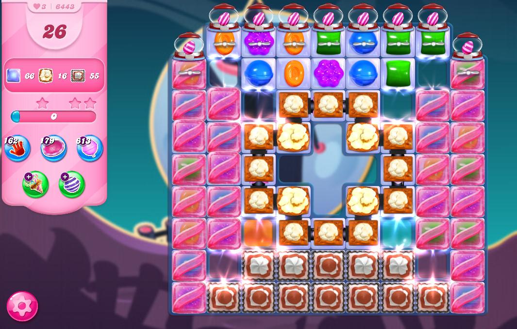 Candy Crush Saga level 6443