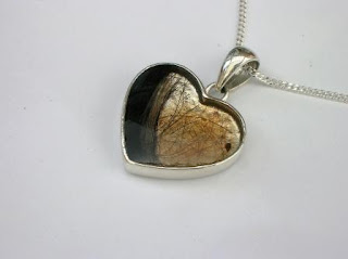 Sterling silver pendants for hair or ashes