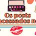 Os posts mais acessados no blog