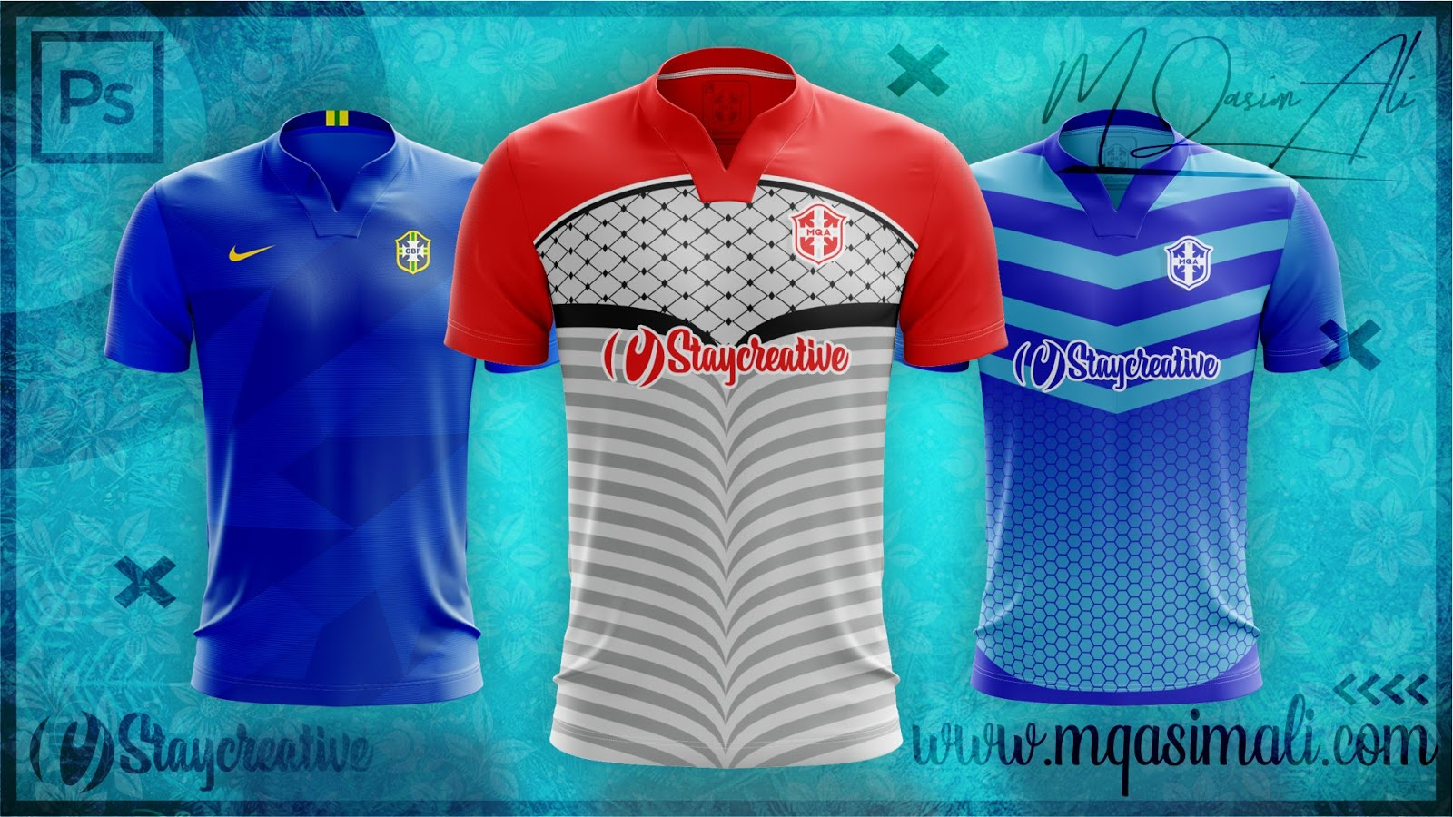 Download Photoshop Sports Templates_Creative Soccer/Football Jersey ...