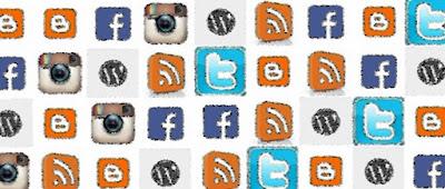 Twiter Facebook Instagram Feeds WordPress Blogger Grupos do Facebook