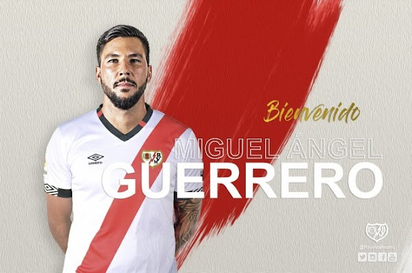 Oficial: Rayo Vallecano, llega cedido Guerrero