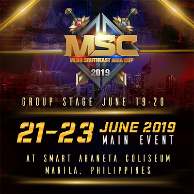 Mobile Legends Southeast Asia Cup 2019 is coming to the