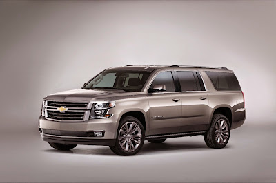 2015 Chevy Suburban Premium Outdoor Edition