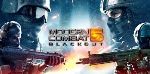 Modern Combat 5 Blackout v1.5.0i MOD APK+DATA