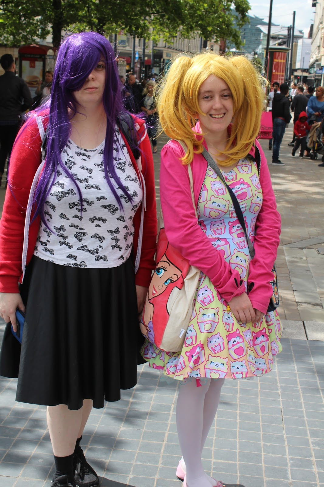 cacf788ebfe We met these two when we were wondering around Manchester. Their outfits  are inspired by cosplay and Japan as there are so may different types of  fashion.