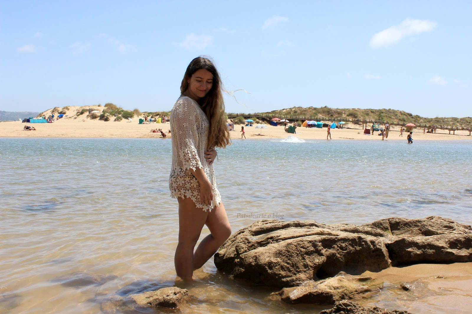 beach day at Salir do Porto