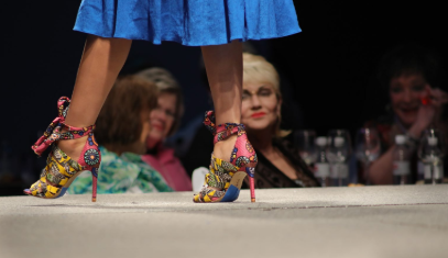 Best in Shoe is one competition during Wine, Women & Shoes Benefiting A Safe Place