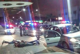 Guarda Municipal de Pinhais (PR) detém foragido, recupera carro roubado, apreende armas de fogo e evita suicídio