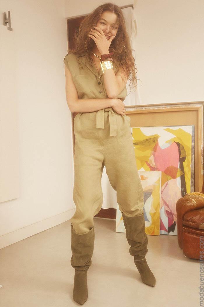 Monos primavera verano 2020 ropa de moda mujer.