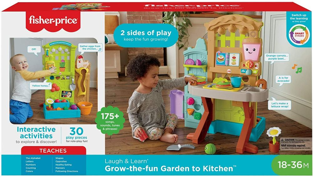 Интерактивная кухня Fisher-Price Laugh & Learn Grow-the-Fun Garden to Kitchen