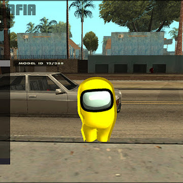 Among Us Skin Pack For GTA San Andreas For Pc