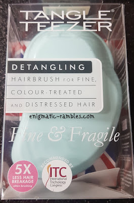 Review Tangle Teezer Detangling Brush for Fine Colour Treated and Distressed Hair Mint Violet