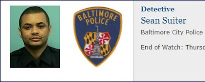 Baltimore Police Department Detective Sean Suiter has died