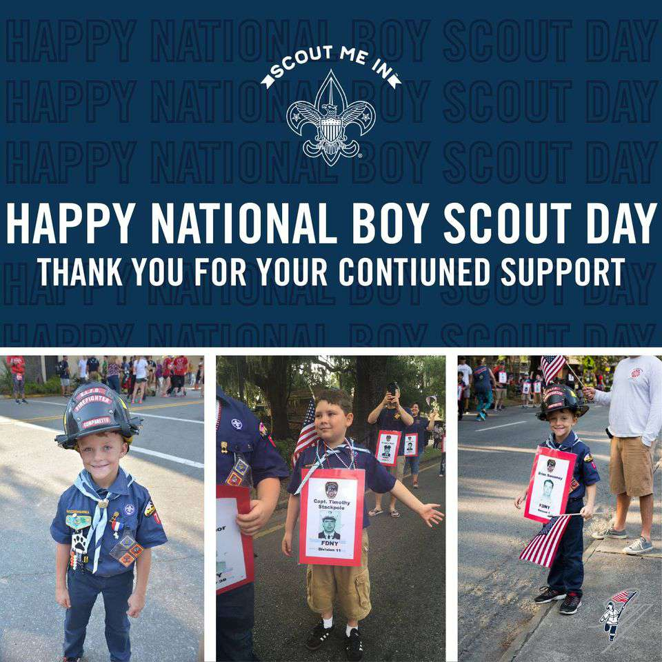 National Boy Scout Day Wishes Beautiful Image