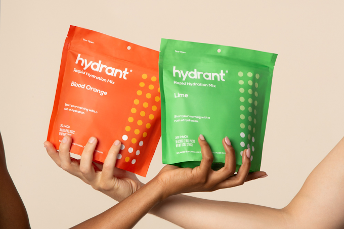Never be thirsty again. Hydrate your body with at Hydrant Products